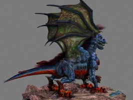 Falcor Texture Render 01 by The-Bluetip