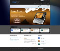 conceptual banner Prayer time by atcreation
