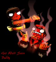 Get Well Soon Mike by Gafagear