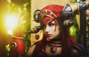 Alexstrasza cosplay - Aspect of Life by Narga-Lifestream