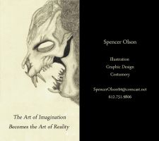 Business Cards 2013 by TheDragonSensi