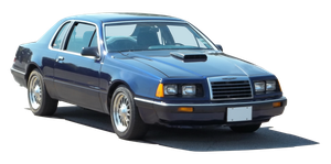 1986 T-Bird - Blue - III - A - PNG by Walking-Tall