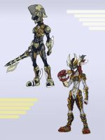 Keyblade Armor Series 1 by KajiMateria