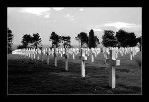Normandy American Cemetery by feisar