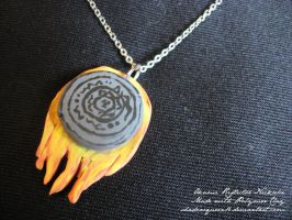 Okami Reflector Necklace by shadowqueen16