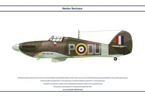 Hurricane GB 312 Sqn by WS-Clave