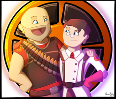 Heavy x Medic! by ClassicFiction