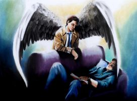 The Angel on your shoulder by meilin-mao