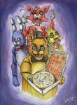 Five Nights at Freddy's by Kagoe