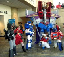 Otakon 2009: Transformers by Scream01
