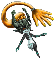 Midna Fan Art by HarlandGirl