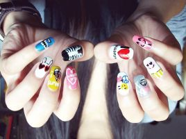 wildfox nails by myloan
