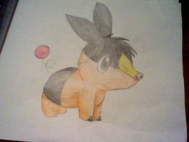 Tepig by NoClueSoItsSyrria