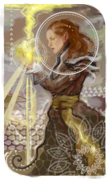 DAI Inquisitor tarot by Kistehvost