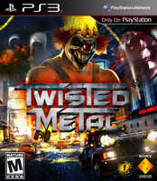 Twisted Metal Unofficial PS3 Boxart 2 by BASTART-D3SIGN