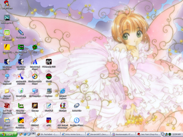 Pretty Sakura Desktop by theorygirl