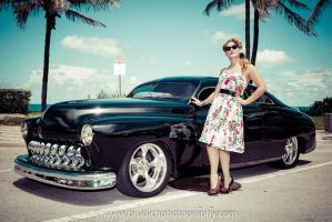 Pinup with Merc by BRPhotos83