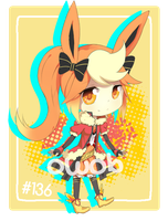 [CLOSED] Auction Adopt 01 - Flareon by 0w0b