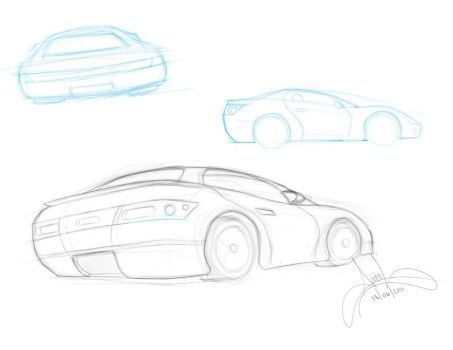 car_sketch by JacobsBook