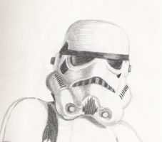 Stormtrooper by PaulSpatola