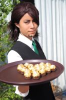 Tiger and Bunny Cosplay: Kotetsu Waiter ver 1 by eN-yen