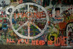 Lennon's wall by ASmartKid