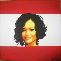 Popart after Warhol, Rihanna by AniraFarinA