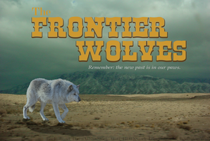 Frontier Wolves Banner by IntelligentWolf