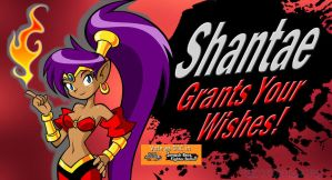 VOTE Shantae for SSB4 DLC by Elemental-Aura