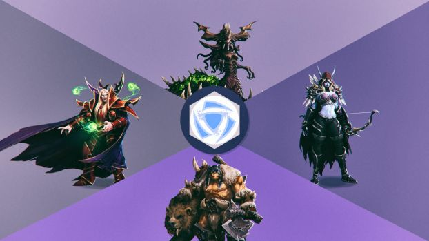 HOTS - The Heroes WP by Binary-Map