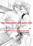 BLEACH : Grimmjow x Ichigo by blackstorm
