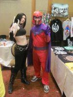 Animfest '12 - X23 and Magneto by TexConChaser