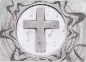 Wooden Cross by Sintrinsic