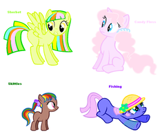 Themed adoptables 25-28 (CLOSED) by BronyBase