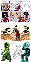 SU Sketchdump by littleprincefinn