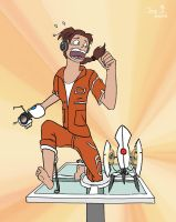 Playing in Portal: RUN and JUMP! by JennIncane