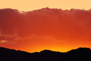 Cloudy Sunset by marcialbollinger