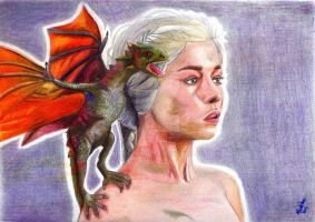 Mother of Dragons by Maidelanel