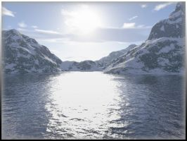 Terragen Waterscape: 2 by SJWalker