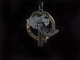 Key necklace by LuckyKojak