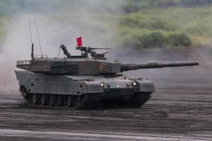 Type 90  Main battle tank by DDmurasame