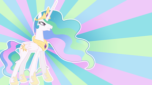 Celestia's Last Stand Wallpaper by TeiThePony