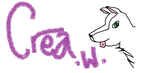 Crea W Name Tag by Foxipaws