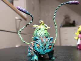 Bulbasaur Sculpture by LONGELF