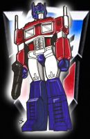 Autobot Optimus Prime by RWhitney75