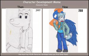 Character Development - Colley by colley