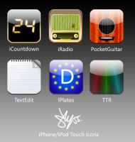 iPhone Icons by sly55