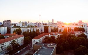 2013, Berlin - and the sun goes down by Modi1985