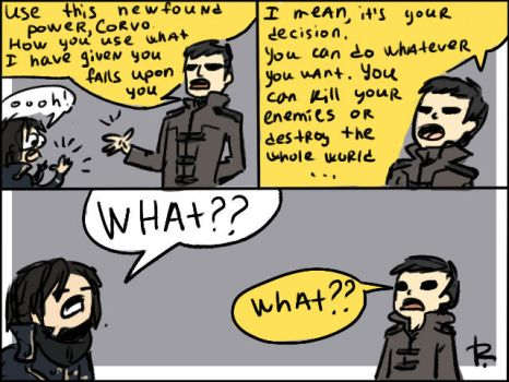 Dishonored, doodles 5 by Ayej