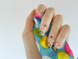 First Day Of Spring Nails by DancingGinger